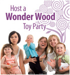 Host a Wonder Wood Toy Party