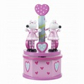 Pink Mouse Musical Carousel