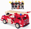 Pintoy Fire Engine and Fire Fighters