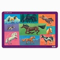 Crocodile Creek Placemat- Horses