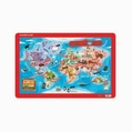 Crocodile Creek Placemat- World Map