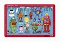 Crocodile Creek Placemat- Robots